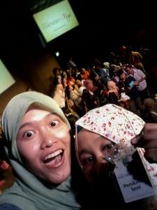 Selfie sama Ajeng. :p