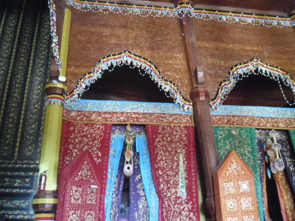 Salah satu kamar di Istana Pagaruyung