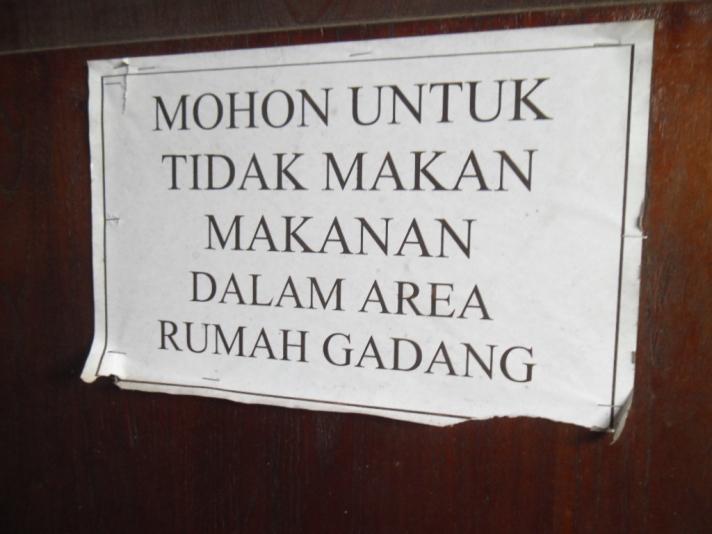 Aturan yang dilanggar