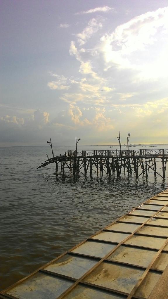 Jembatannya ambrul