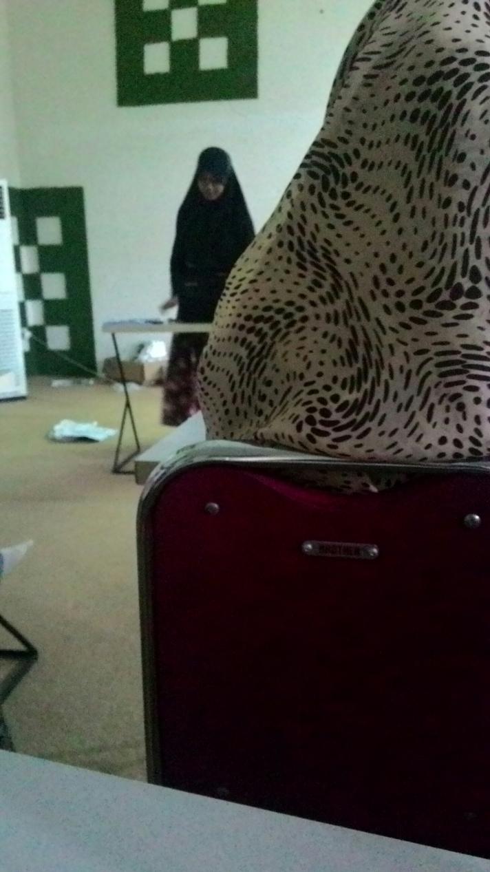 Di kelas listening