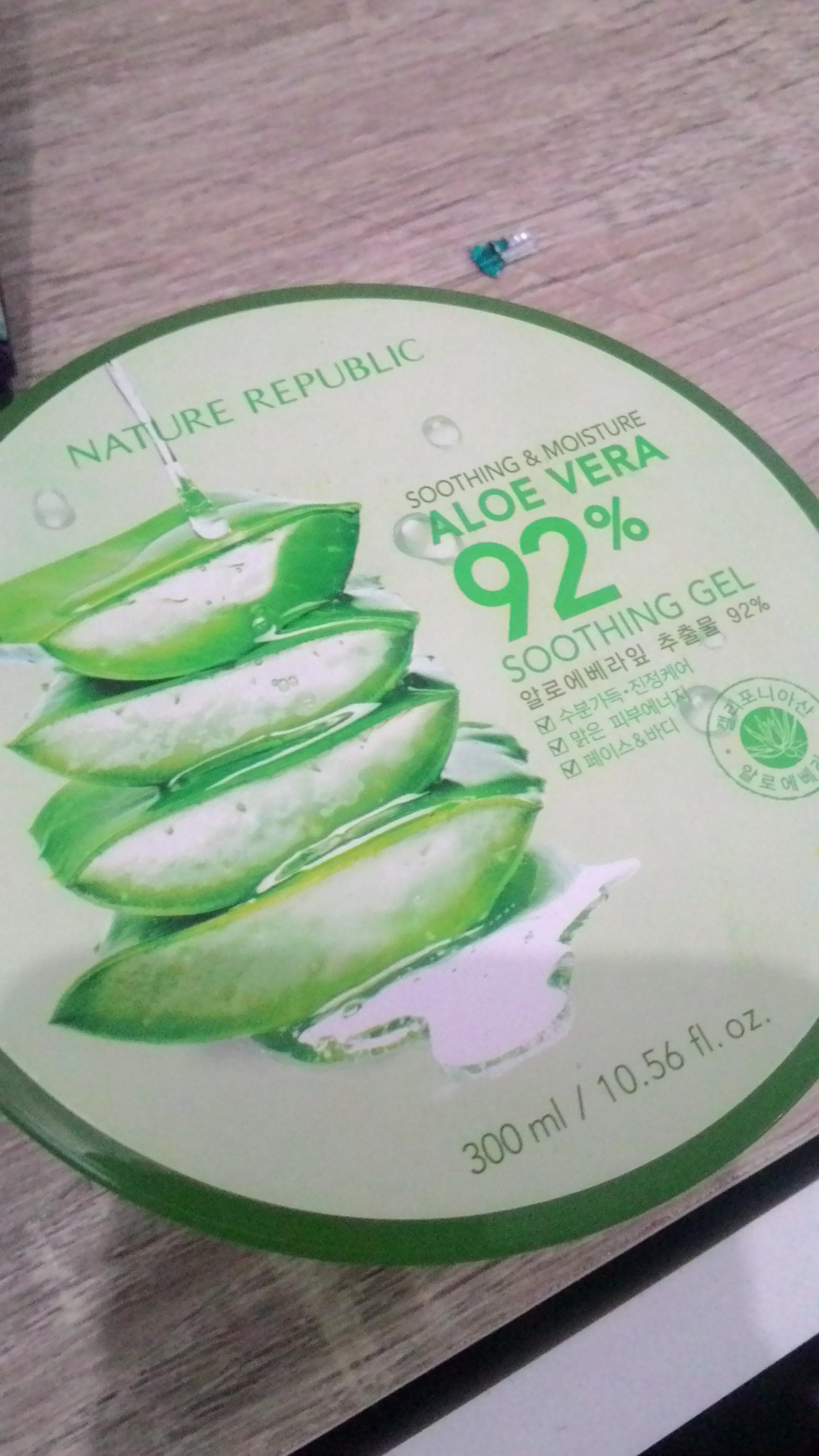 Keseret Arus Buat Nyoba 4 Produk Kecantikan Dari Korea Bella Zoditama Kosmetik Nature Republik Ori Republic Aloe Vera 92
